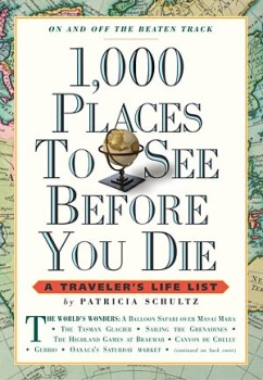 1000 Places to see before you die book giveaway