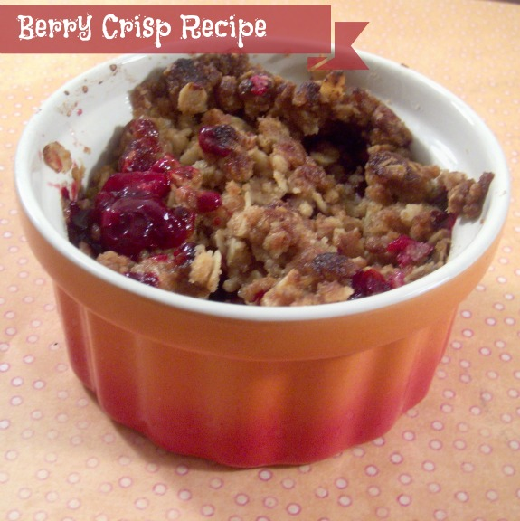 berrycrisp2 Berry Crisp Recipe: Breakfast of Champions