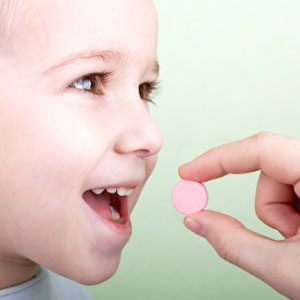 Getting kids to take their vitamins