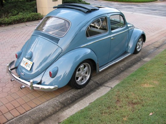 1958 vw bug ragtop 006 560x420 550 x 413 Fab Five: Fun Cars