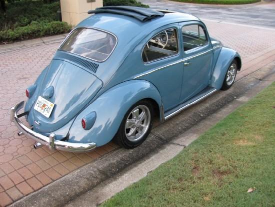 Classic ragtop VW bug