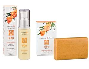 Sibu Beauty Facial Soap and Moisturizer combo