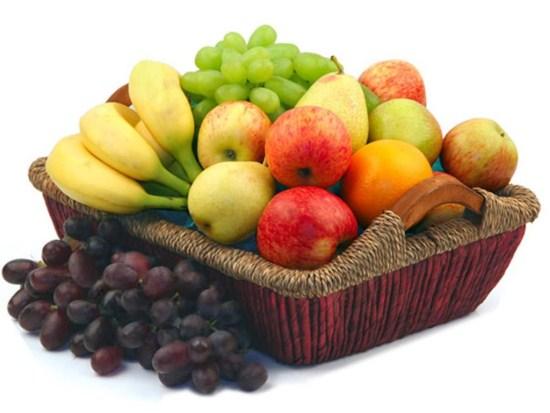 fruitbasket 550 x 413 Fab Five Gift Baskets Ideas