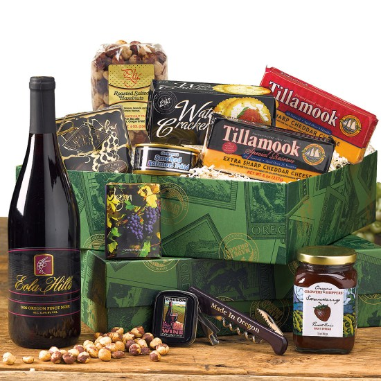 Made in Oregon Wine Gift Basket
