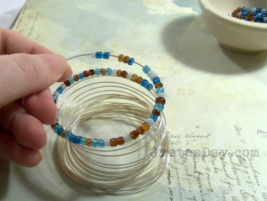 River Wrap Bracelet Tutorial