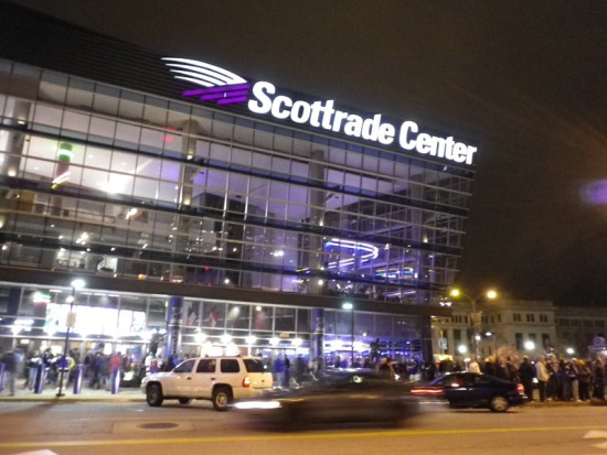 Scottrade center, St Louis, mo