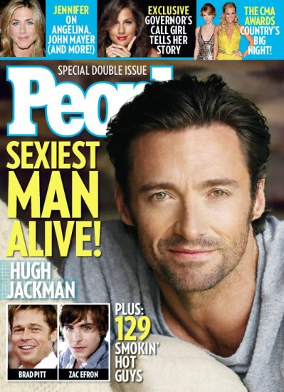 Hugh Jackman PEOPLE Magazine Sexiest Man Alive