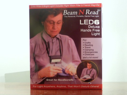 beamnread 525 x 394 Beam N Read ® LED 6 Deluxe Hands Free Light Review
