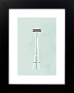 Seattle Space Need Art Print