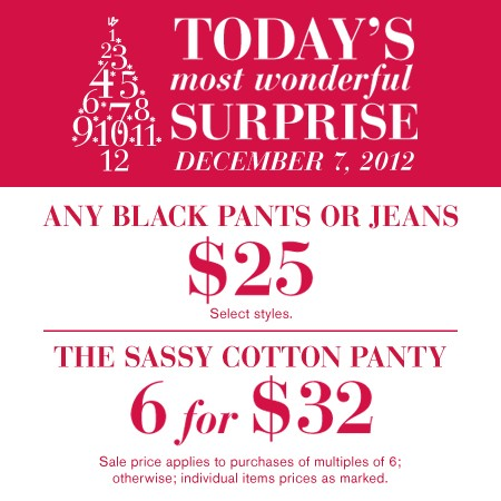 Lane Bryant Surprise Offer