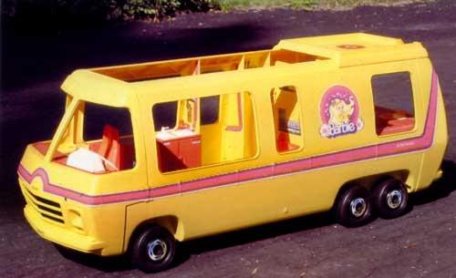 Barbie Camper Van