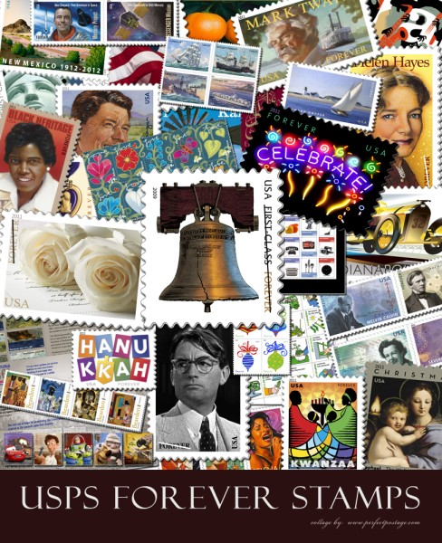 forever stamps2 488 x 600 Tips for Letter Writing