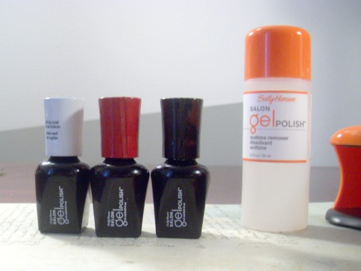 Sally Hansen Gel Nail Polish kit