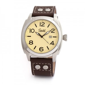 Speidel Pilot Watch in Brown