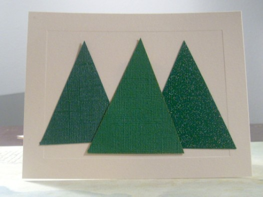 treecard 525 x 395 Easy and Elegant Christmas Cards Tutorial