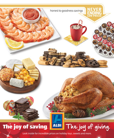 Aldi Holiday Selections