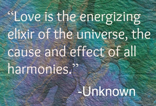 Love is the energizing force quote