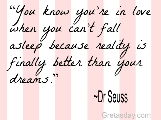 Dr Seuss love quote