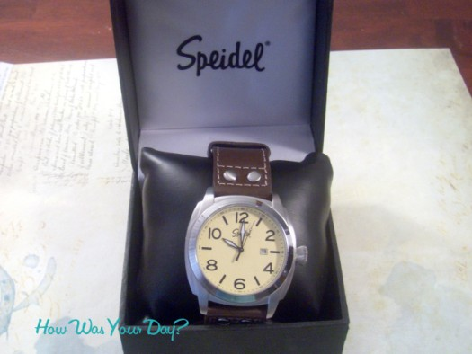 Speidel Aviator Watch