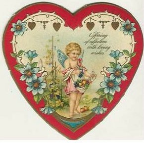 valentine06 Vintage Valentines Day Images | Wordless Wednesday
