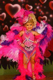 Eden Wood Showgirl Costume