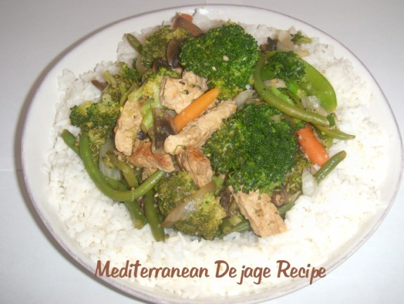Mediterranean Dejage recipe