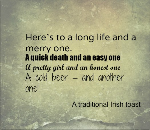 Traditional Irish Blessing St Patricks Day Quote