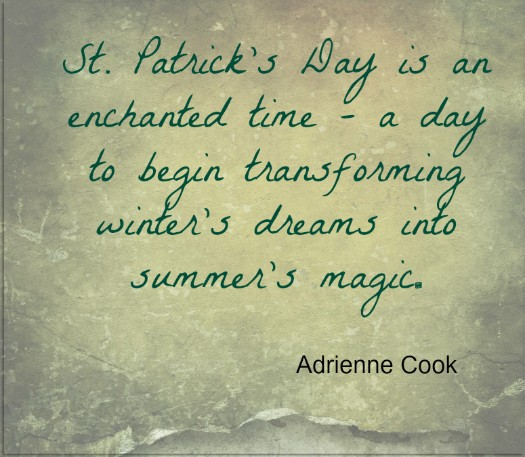 St Patricks Day Quote Adrienne Cook