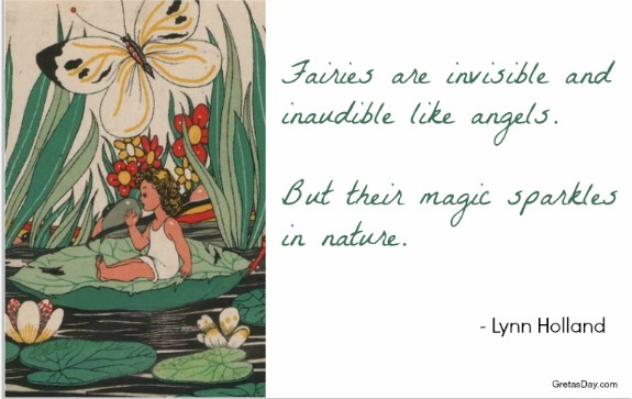 Fairy Quote magic Lynn Holland