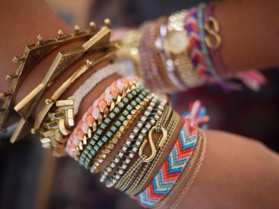 armpartybracelets 575 x 431 Spring 2013 Trends for Accessories