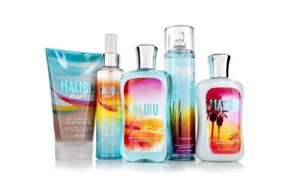 Bath & Body Works Malibu Collection