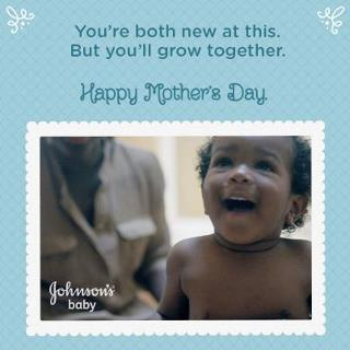 Johnsons Baby Card