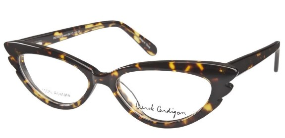 Cat's Eye glasses from Derek Cardigan