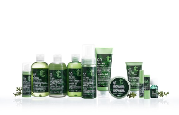 The Body Shop Tea Tree line