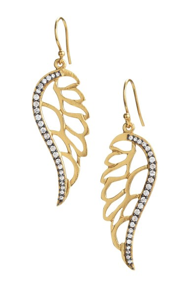 angel earrings 380 x 575 Hot Jewelry Trends for Fall 2013