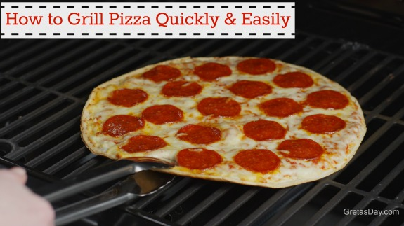 grilledpizza How To Grill Pizza Quickly And Easily