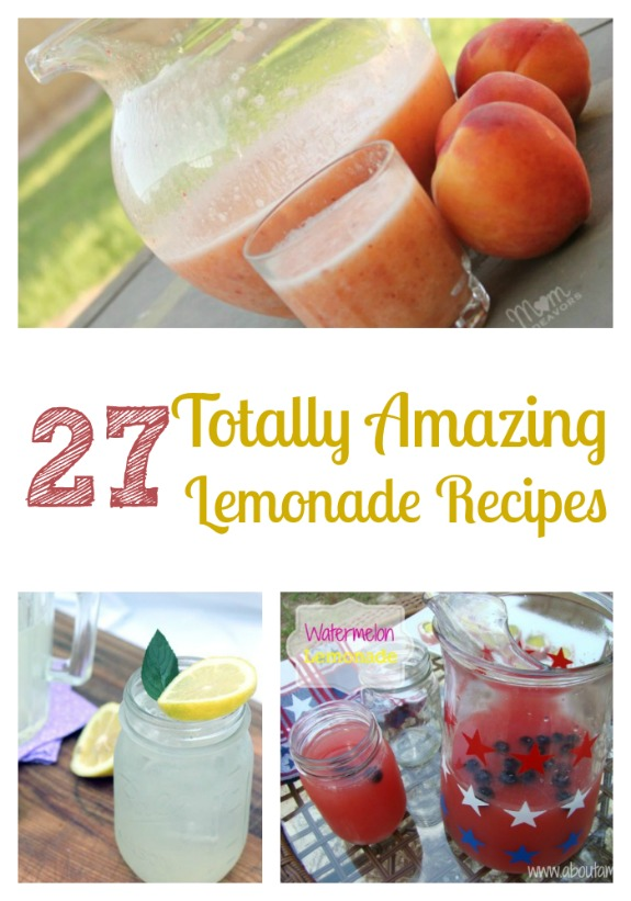27 totally amazing lemonade recipes 27 Totally Amazing Lemonade Recipes
