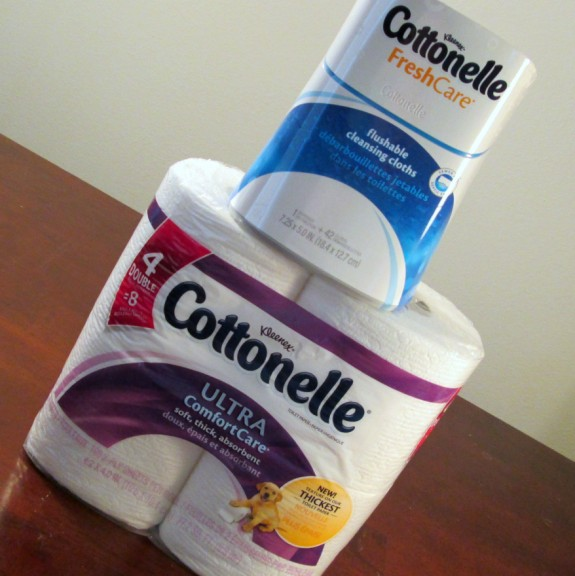 Cottonelle TP & Flushable Wipes