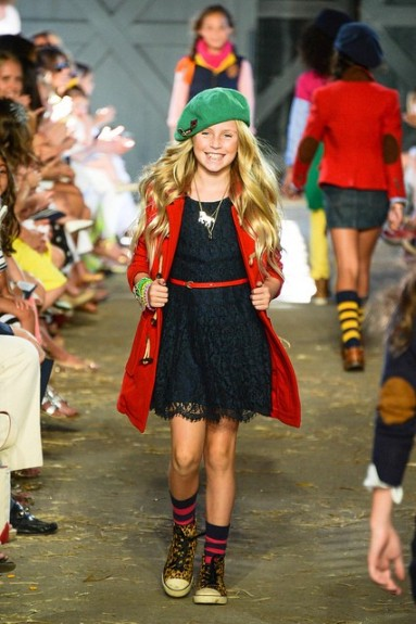 Fashion Shows For Girls the iconic fashion line