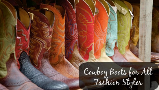 Cowboy boots for all fashion styles Cowboy Boots for Every Style + $100 Country Outfitters Gift Card Giveaway