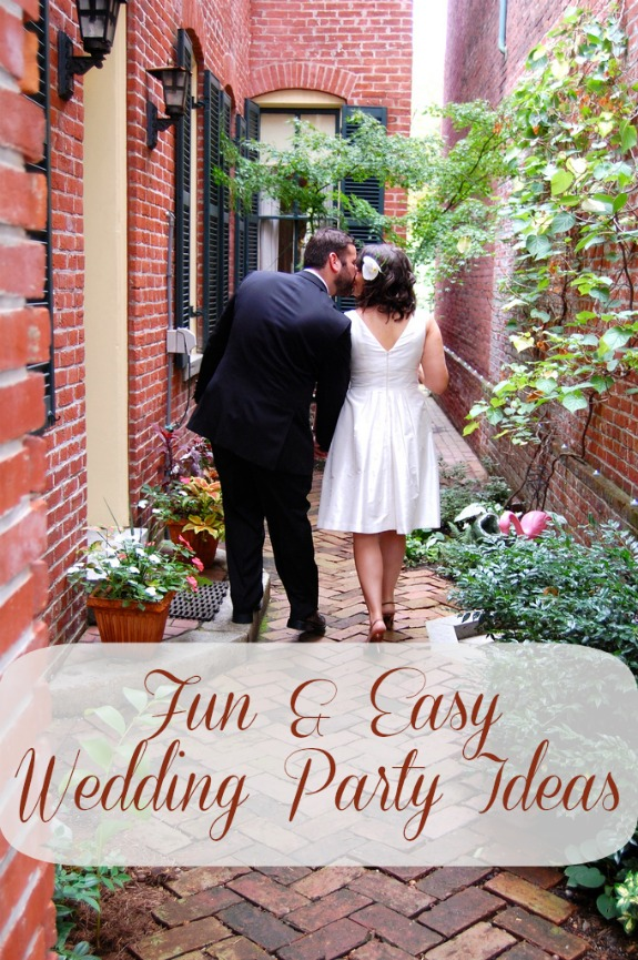 fun easy wedding party ideas Wedding Party Ideas #targetwedding