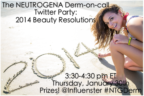 neutrogena twitter party Join Me for the Neutrogena Twitter Party Jan 30th #NTGDerm