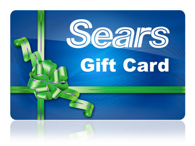 sears gift card $25 Sears Gift Card Giveaway   Open WW
