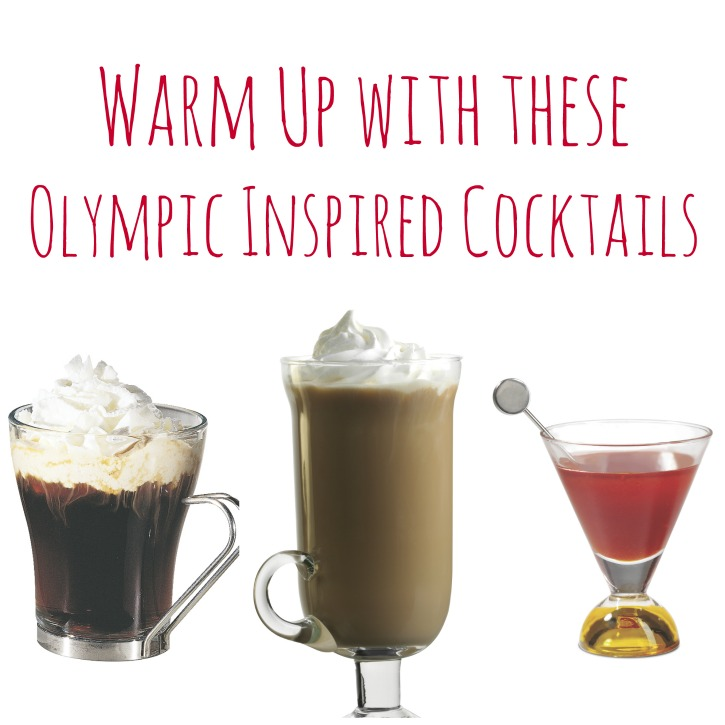 Olympic inspired cocktails Warm Up with these Olympic Inspired Cocktails