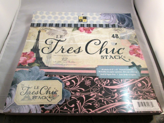 le tres chic paper stack 700 x 526 Quick and Easy French Tags