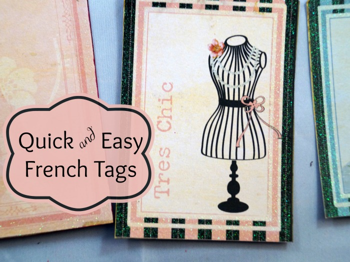 tres chic tag 2 wm Quick and Easy French Tags