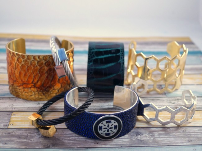 cuff bracelets 3 650 x 487 ISLY Clutch & Rustic Cuff Giveaway #fashionistaevents