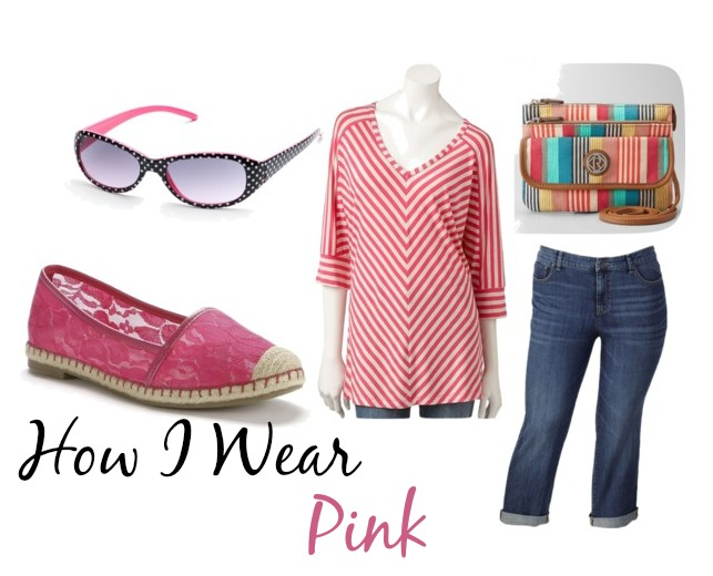how i wear pink kohls casual wm How I Wear Pink with Kohls #sponsored