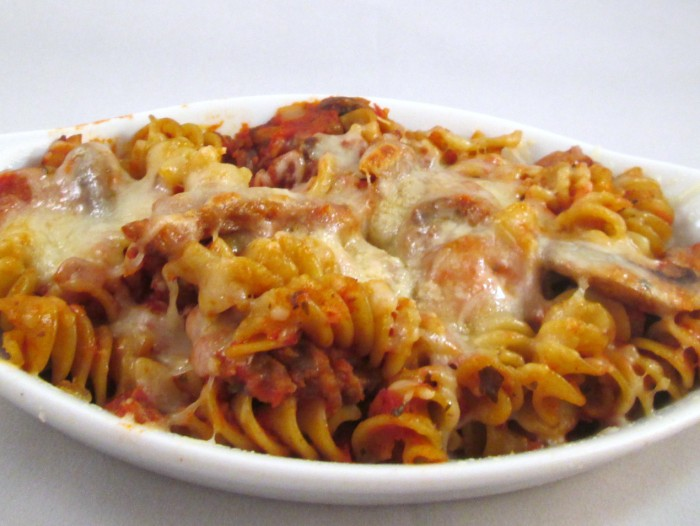 pasta bake 700 x 526 Easy 30 Minute Pasta Bake Recipe