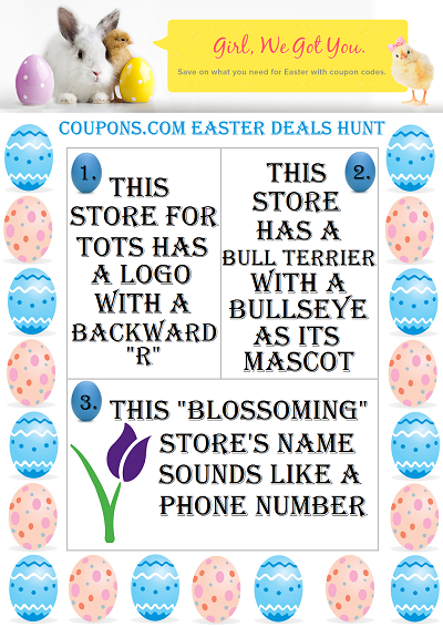 Scavenger Hunt Game 400 Corny Easter Jokes for Kids + Coupons.com Giveaway